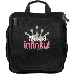 MISS INFINITY Logo Make-up Bag