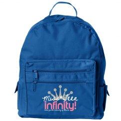 MISS TEEN INFINITY Logo Backpack