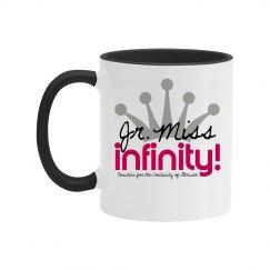 JR. MISS INFINITY Logo Mug