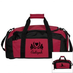 Aaliyah. Gymnastics bag
