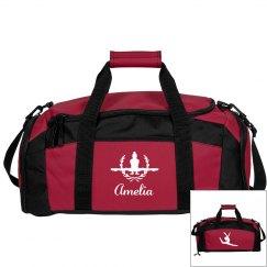 Amelia. Gymnastics bag #2