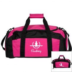 Audrey. Gymnastics bag #2