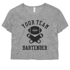 Custom Football Bartender