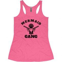 Mermaid Gang Neon Summer Tank