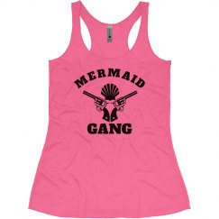 Mermaid Gang Neon Summer Tank