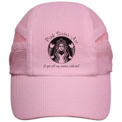 Pink Sister Act - Running Hat