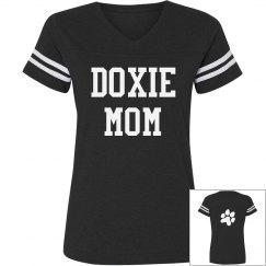Doxie Mom Paw
