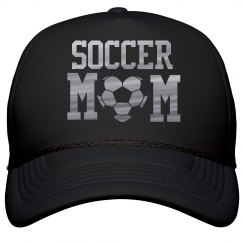 Metallic Soccer Mom Hat