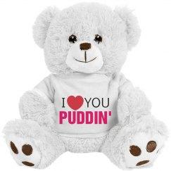 love you puddin'