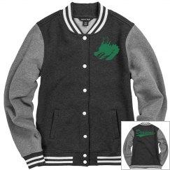 Carroll dragons women's jacket.