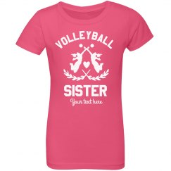 Custom Volleyball Sister