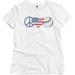 Peace love and baseball