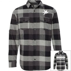 Nbhd Heroes Plaid Button Up Shirt Tee 2