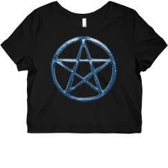 Blue Pentacle Shirt