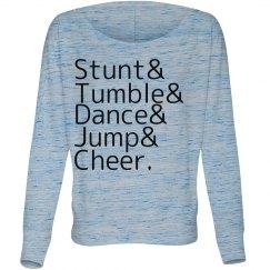 Stunt Tumble Dance Jump Cheer