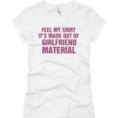 Girlfriend Material Pink
