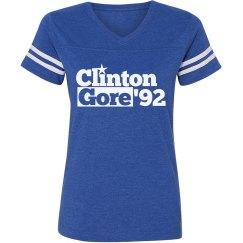 Vintage Democrat Clinton Gore 92