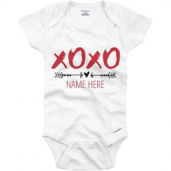 Custom Baby Xoxo Valentine's Day