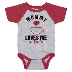 Mommy Loves Me A Latte Bodysuit