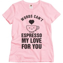 Can't Espresso My Love