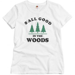 be49a334 Summer Camp Custom Staff Apparel. $37.47 $35.47. Unisex 3/4 Sleeve Raglan  Tee · Cute S'all Good In The Woods
