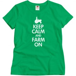 Keep calm farm on