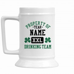 St. Patrick's Drinking Team Name Here