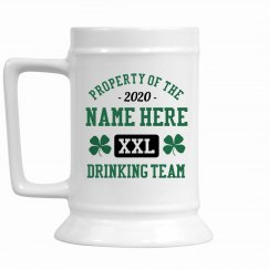 Custom Last Name Drinking Team
