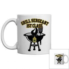 Grill Sergeant Barbecue Mug