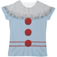 Scary Clown All Over Print Costume