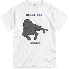 Black Lab Chillin'