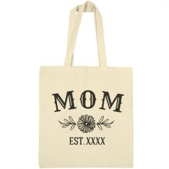 Custom Year Mothers Day Bag Tote