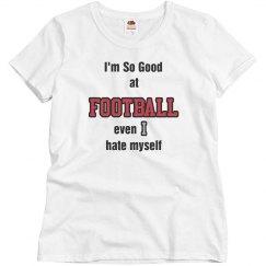 So good at football