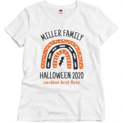 Customizable Family Halloween Shirts