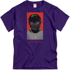 87TH MALIK FIGHTER TEE PURPLE