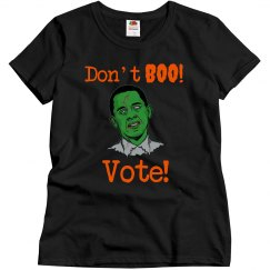 Don't Boo Vote
