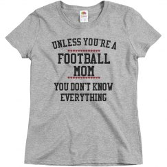 Football mom knows all