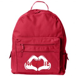 Small School Book Bag With Custom Name and Colors