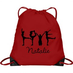 Lightweight Cheer Bag Backpack With Custom Name