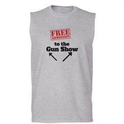 Gun Show Sleeveless grey