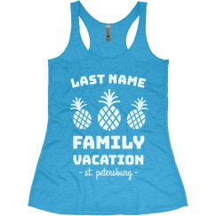 Create Custom Family Beach Vacation Tanks