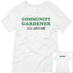 Custom Local Garden Tee