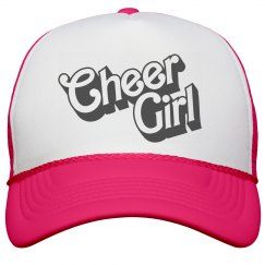 Cheer Girl Neon Hat