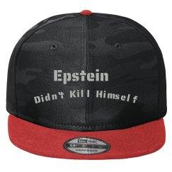 """""""Epstein Didn't Kill Himself"""" Flat Bill Cap"""