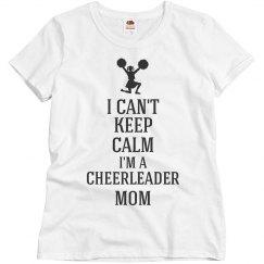 Cheerleader mom