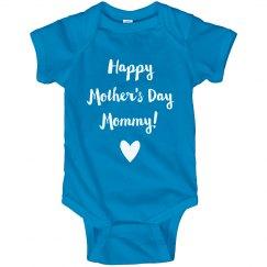 Happy Mother's Day Mommy Onesie