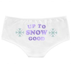 Up to Snow Good Underwear