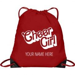 Cheer Girl Custom Backpack