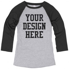 Create Your Own Sports Mom Raglan