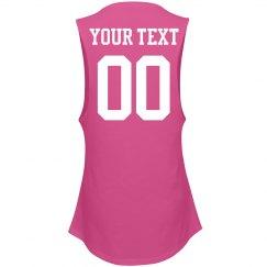Custom Name/Number Sports Mom